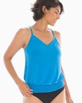 Magicsuit Solid Justina Tankini Swim Top