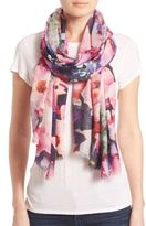 Bindya Fall Floral 1 Cashmere & Silk Scarf