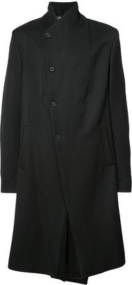 Lost & Found Ria Dunn single breasted asymmetric coat