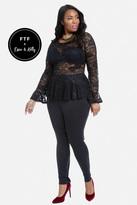 Fashion to Figure Risky Business Lace Jumpsuit