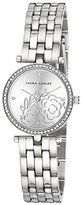 Laura Ashley Women's ' Quartz Metal and Alloy Casual Watch, Color:Silver-Toned (Model: LA31021SS)