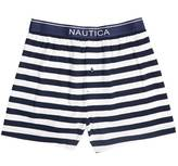 Nautica Striped Knit Boxer