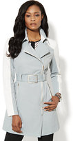 New York & Co. NY Trench - Contrast-Sleeves