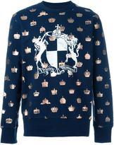 Vivienne Westwood Man blazon print sweatshirt