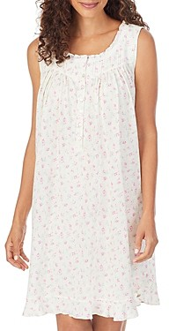 Eileen West Cotton Jersey Chemise Nightgown