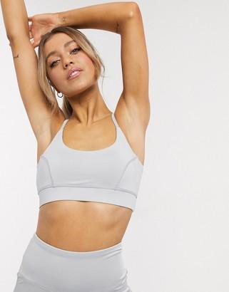 South Beach Yoga bra in grey
