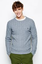 Jack Wills Marlow Cc Classic Cable Crew Neck Jumper