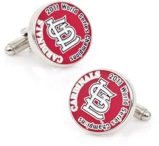 Cufflinks Inc. MLB St. Louis Cardinals 2011 World Series Championship Cuff Links