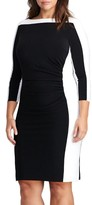 Lauren Ralph Lauren Plus Size Women's Jersey Sheath Dress