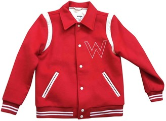 Wrangler Red Cotton Jacket for Women