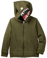 Tea Collection Tiburon Graphic Zip Hoodie (Toddler & Little Boys)