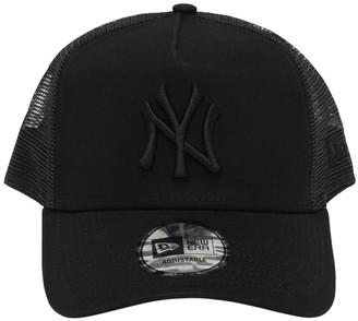 New Era Clean Trucker Ny Yankees Cap W/ Mesh