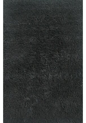 """Fun Rugs Fun Shags Black Area Rug Rug Size: Rectangle 3'3"""" x 4'10"""""""