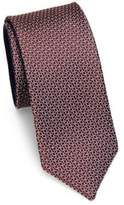 Saks Fifth Avenue MODERN Mini Links Silk Tie