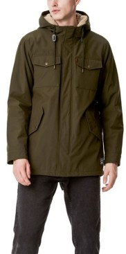 Levi's Men's Sherpa Lined Water Resistant Hooded Parka