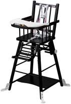 COMBELLE High Chair - Black Varnish