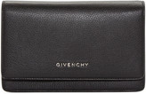 Givenchy Black Leather Pandora Chain Wallet