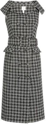 Huishan Zhang Domino Midi Dress