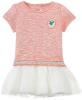 Billieblush Dropwaist Dress W/Tulle Hem (Baby) - Red Fire-9 Months