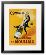 "Art.com Champagne"" Framed Art Print"