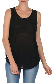 Majestic MANON women's Vest top in Black
