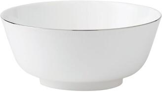 Wedgwood Blanc Sur Blanc Salad Bowl (25Cm)
