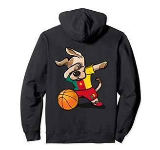 Dog Dabbing Basketball Cameroon Jersey Cameroonian Shirt