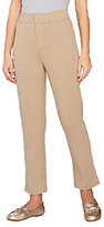 Liz Claiborne New York Hepburn Ponte Knit Slim Leg Ankle Pants