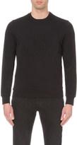 Armani Jeans Brand logo stretch-jersey sweatshirt