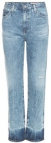 AG Jeans The Phoebe High-rise Tapered Jeans