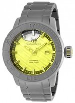Technomarine Men's Reef 48mm Grey Titanium Bracelet Automatic Watch Tm-516001