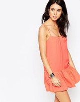 South Beach Drop Waist Beach Dress