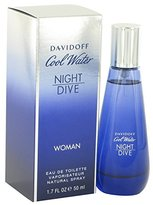 Davidoff Cool Water Night Dive by for Women - Eau De Toilette Spray 2.7 oz