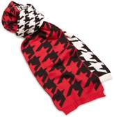 Alice Hannah Hounds Tooth Jacquard Women's Scarf