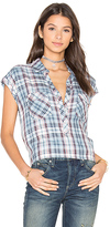 Soft Joie Johnesha Top in Blue