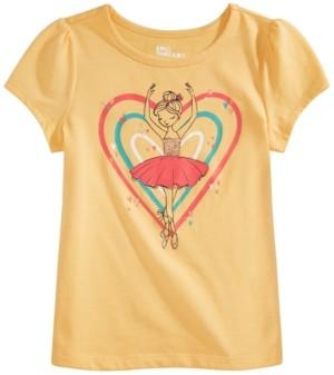 Epic Threads Toddler Girls Ballerina Turn T-Shirt, Created for Macy's