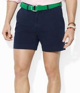 "Polo Ralph Lauren Classic-Fit 6"" Inseam Flat-Front Chino Shorts"