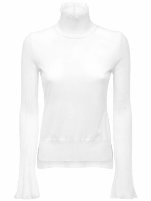 Sportmax Virgin Wool Blend Knit Sweater