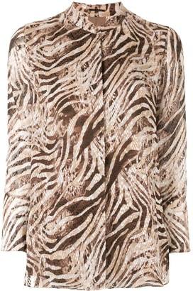 Elie Tahari 'Chava' animal print blouse