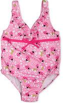 Penelope Mack 1-Pc. Ladybug-Print Swimsuit, Baby Girls (0-24 months)