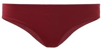 The Fold D+ Swim - The Form Recycled-fibre Bikini Briefs - Burgundy