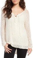 Cupcakes And Cashmere Phyllis Crochet Top