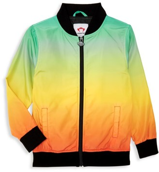 Appaman Little Boy's & Boy's Boardwalk Ombre Bomber Jacket