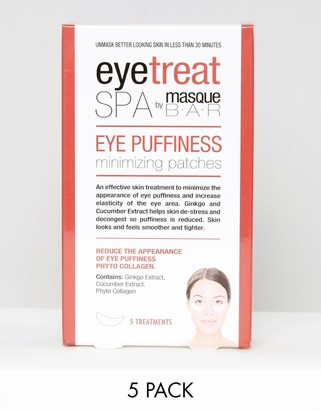 MasqueBAR Eye Puffiness Minimizing Patches x5-No Color