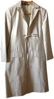 BOSS Beige Silk Coat for Women