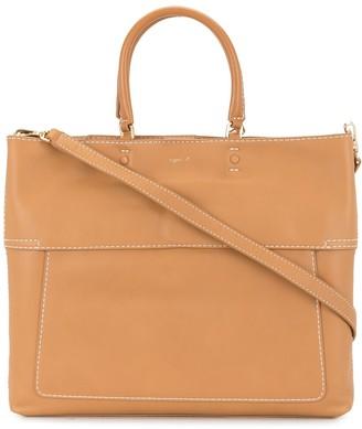 agnès b. Leather Tote Bag