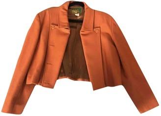 Kenzo Orange Wool Jacket for Women Vintage