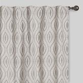 Gray Geo Laura Concealed Tab Top Curtains Set of 2