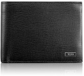 Tumi Men's 'Monaco' Global Leather Wallet With Coin Pocket - Black