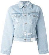 SteveJ & YoniP Steve J & Yoni P - cropped denim jacket - women - Cotton - XS